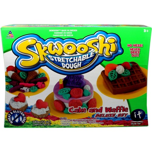 Skwooshi Cake Waffle Maker Set Pack 4