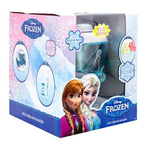 Disney FRBB Frozen Ice Cream Maker, Blue/White