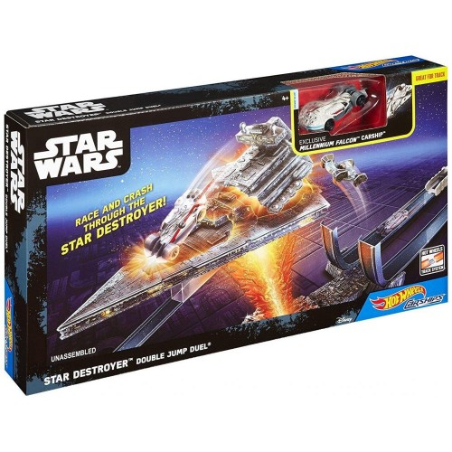 Star Wars Rogue One: Star Destroyer Double Jump Duel Carships Trackset