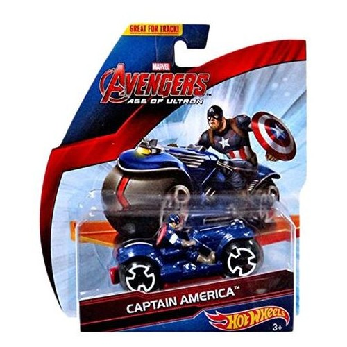 Hot Wheels Marvel Avengers Age of Ultron Captain America Diecast Car