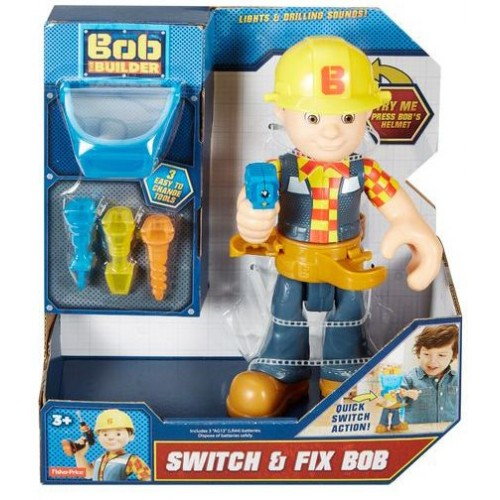 Fisher Price Bob The Builder Switch and Fix Bob - 3 Years & Above