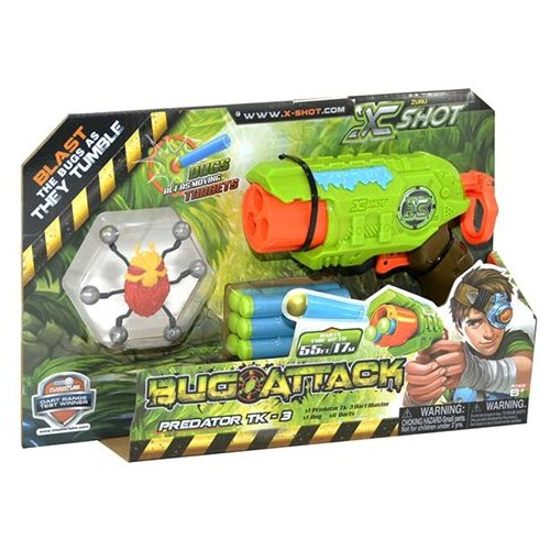 X Shot Bug Attack Predator TK 3 4815 Activity and Amusement Toy
