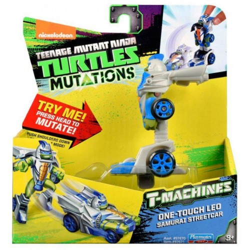 Teenage Mutant Ninja Turtles One Touch Leo T Machines GreyBlue
