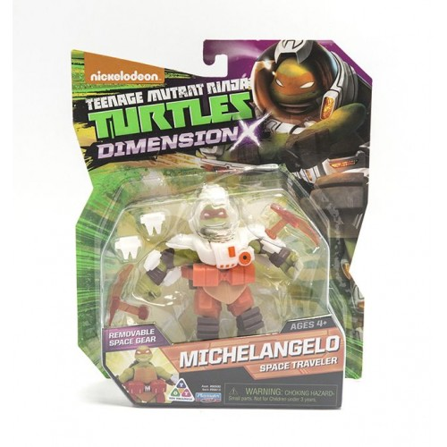 Ninja Turtles , Michelangelo Space Traveler , Dimension X , for Boys , , 90613