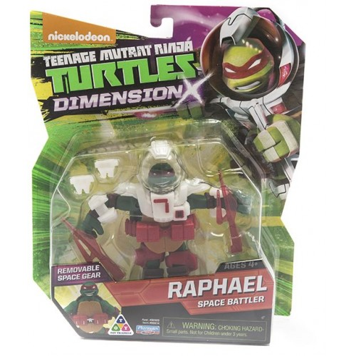 Ninja Turtles , Raphael Space Battler , Dimension X , for Boys , 4+ , 90614