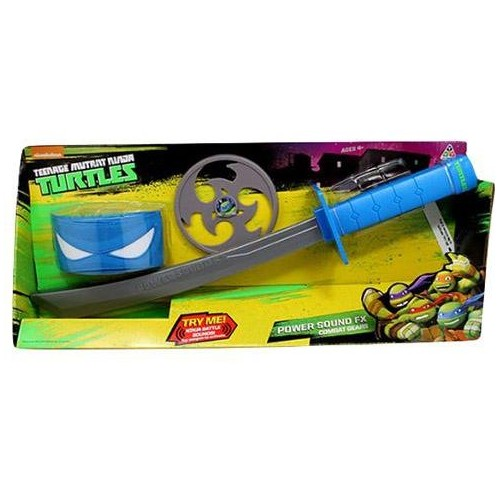 Teenage Mutant Ninja Turtles Power Sound 92100EZ Fx Combat Gear-Leonardo