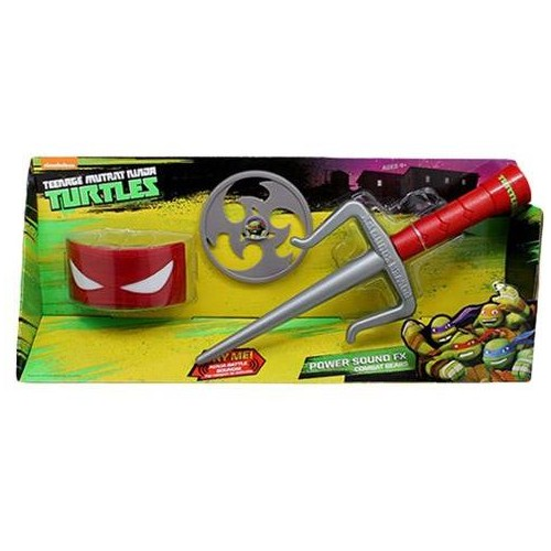 Teenage Mutant Ninja Turtles Power Sound 92100EZ Fx Combat Gear-Raphael