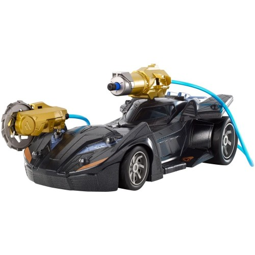 Batman Missions Air Power Cannon attack Batmobile Vehicle FVY25