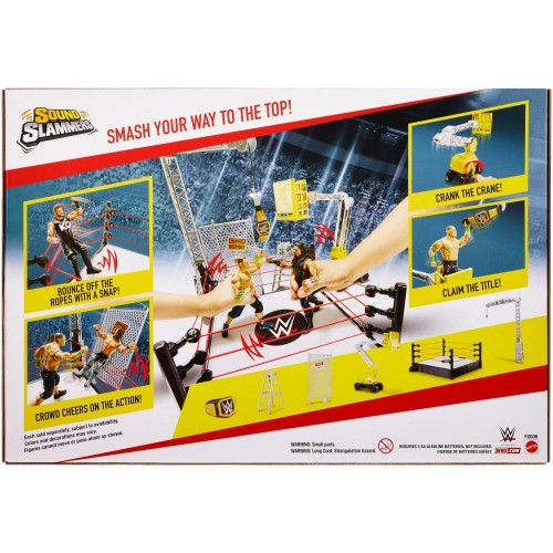 WWE Sound Slammers Destruction Zone Playset FXG08