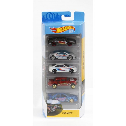 Hot Wheels Meet 5 cars gift pack FKT59