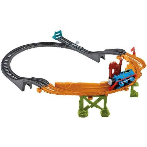 Fisher-Price CDB59 Thomas & Friends Wooden Railway Track Master Breakaway Bridge Set